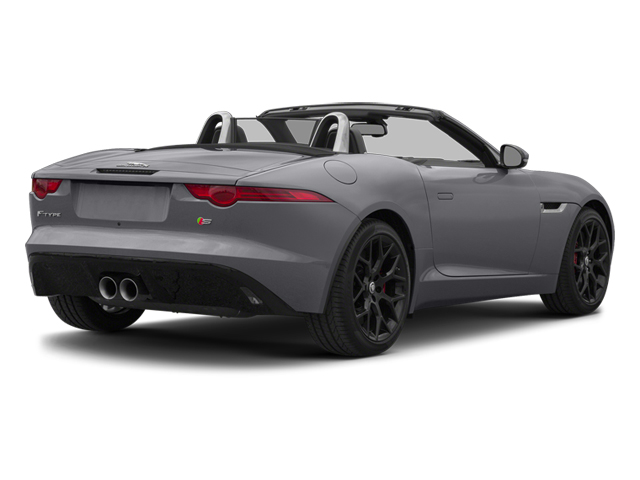 Lunar Gray Metallic 2014 Jaguar F-TYPE Pictures F-TYPE Convertible 2D S V6 photos rear view