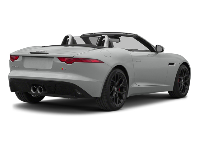 Rhodium Silver Metallic 2014 Jaguar F-TYPE Pictures F-TYPE Convertible 2D S V6 photos rear view