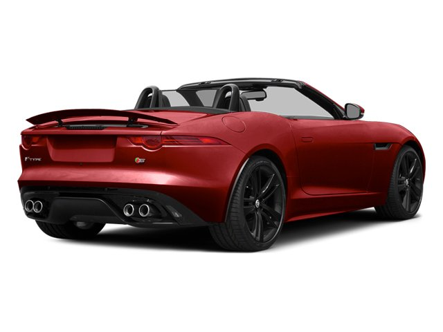 Italian Racing Red 2014 Jaguar F-TYPE Pictures F-TYPE Convertible 2D S V8 photos rear view