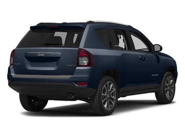 True Blue Pearlcoat 2014 Jeep Compass Pictures Compass Utility 4D Altitude 4WD photos rear view