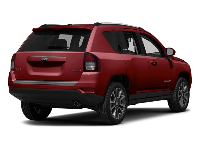 Deep Cherry Red Crystal Pearlcoat 2014 Jeep Compass Pictures Compass Utility 4D Altitude 4WD photos rear view