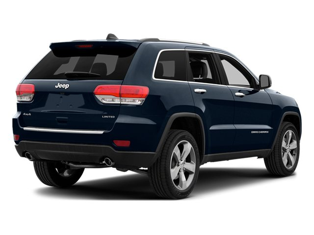 True Blue Pearlcoat 2014 Jeep Grand Cherokee Pictures Grand Cherokee Utility 4D Overland 2WD photos rear view
