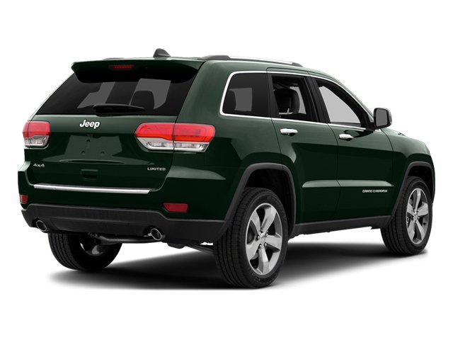 Black Forest Green Pearlcoat 2014 Jeep Grand Cherokee Pictures Grand Cherokee Utility 4D Limited 2WD photos rear view