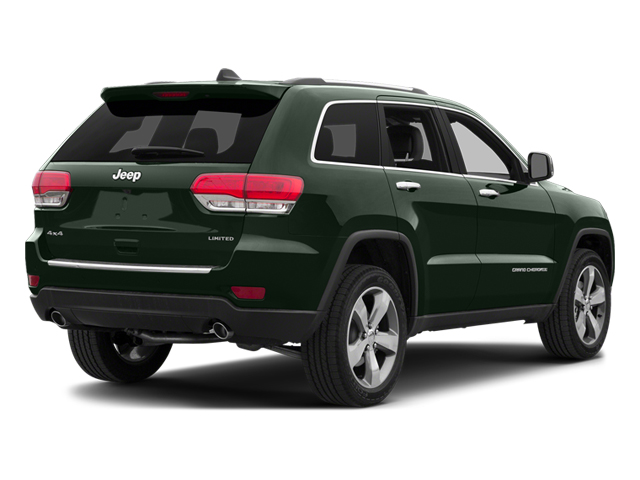 Black Forest Green Pearlcoat 2014 Jeep Grand Cherokee Pictures Grand Cherokee Utility 4D Overland 2WD photos rear view