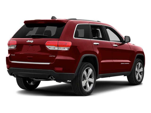 Deep Cherry Red Crystal Pearlcoat 2014 Jeep Grand Cherokee Pictures Grand Cherokee Utility 4D Overland 2WD photos rear view