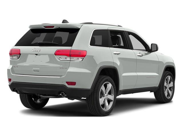 Bright White Clearcoat 2014 Jeep Grand Cherokee Pictures Grand Cherokee Utility 4D Overland 2WD photos rear view
