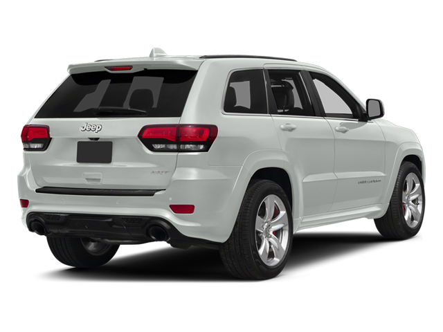 Bright White Clearcoat 2014 Jeep Grand Cherokee Pictures Grand Cherokee Utility 4D SRT-8 4WD photos rear view