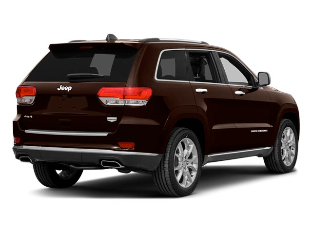 Deep Auburn Pearlcoat 2014 Jeep Grand Cherokee Pictures Grand Cherokee Utility 4D Summit 4WD photos rear view