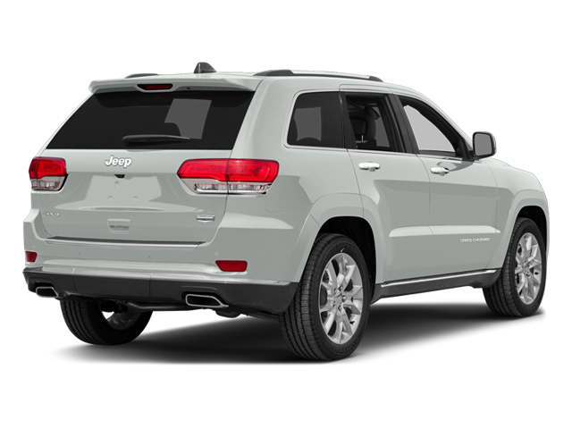 Bright White Clearcoat 2014 Jeep Grand Cherokee Pictures Grand Cherokee Utility 4D Summit 4WD photos rear view