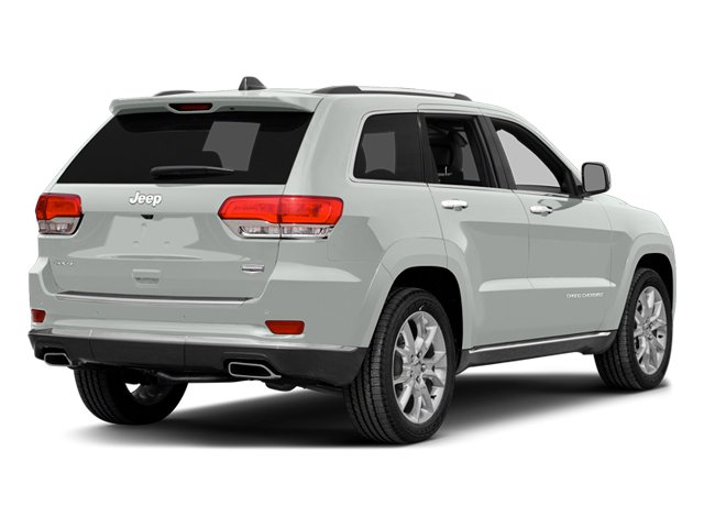 Bright White Clearcoat 2014 Jeep Grand Cherokee Pictures Grand Cherokee Utility 4D Summit Diesel 2WD photos rear view