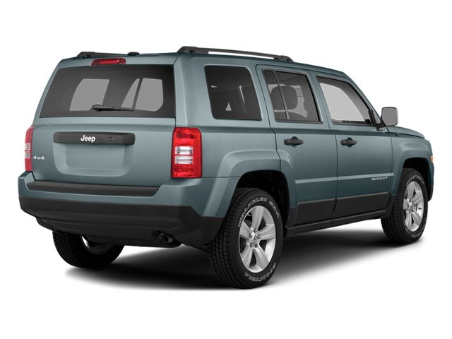 Winter Chill Pearlcoat 2014 Jeep Patriot Pictures Patriot Utility 4D Latitude 4WD photos rear view