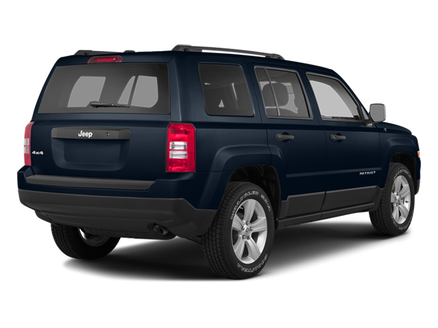 True Blue Pearlcoat 2014 Jeep Patriot Pictures Patriot Utility 4D Latitude 4WD photos rear view