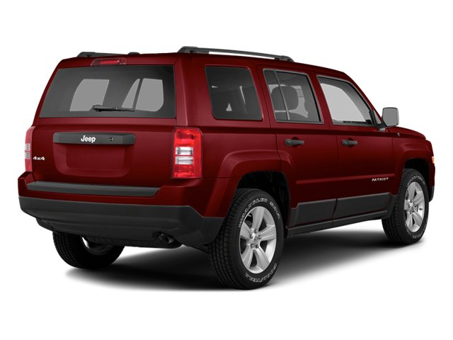 Deep Cherry Red Crystal Pearlcoat 2014 Jeep Patriot Pictures Patriot Utility 4D Latitude 4WD photos rear view