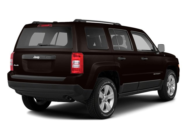 Rugged Brown Pearlcoat 2014 Jeep Patriot Pictures Patriot Utility 4D Latitude 4WD photos rear view
