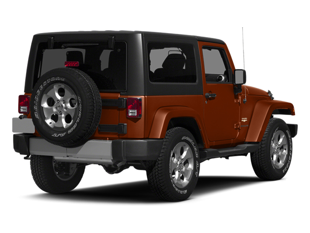 Copperhead Pearlcoat 2014 Jeep Wrangler Pictures Wrangler Utility 2D Rubicon 4WD V6 photos rear view
