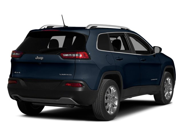 True Blue Pearlcoat 2014 Jeep Cherokee Pictures Cherokee Utility 4D Limited 2WD photos rear view