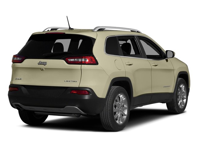 Cashmere Pearlcoat 2014 Jeep Cherokee Pictures Cherokee Utility 4D Limited 4WD photos rear view