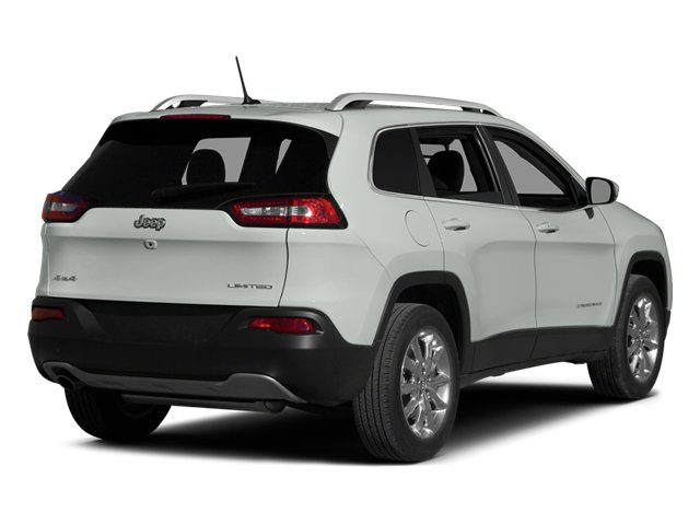 Bright White Clearcoat 2014 Jeep Cherokee Pictures Cherokee Utility 4D Sport 4WD photos rear view