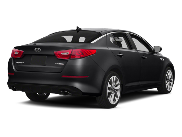 Ebony Black 2014 Kia Optima Pictures Optima Sedan 4D SX Limited I4 Turbo photos rear view