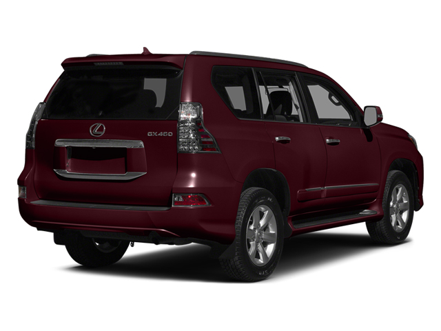 Claret Mica 2014 Lexus GX 460 Pictures GX 460 Utility 4D Luxury 4WD V8 photos rear view