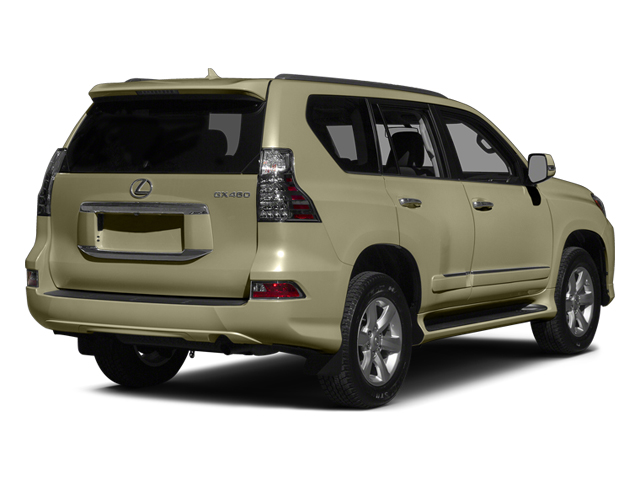 Satin Cashmere Metallic 2014 Lexus GX 460 Pictures GX 460 Utility 4D Luxury 4WD V8 photos rear view