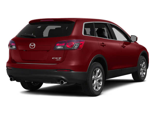 Zeal Red Mica 2014 Mazda CX-9 Pictures CX-9 Utility 4D GT 2WD V6 photos rear view