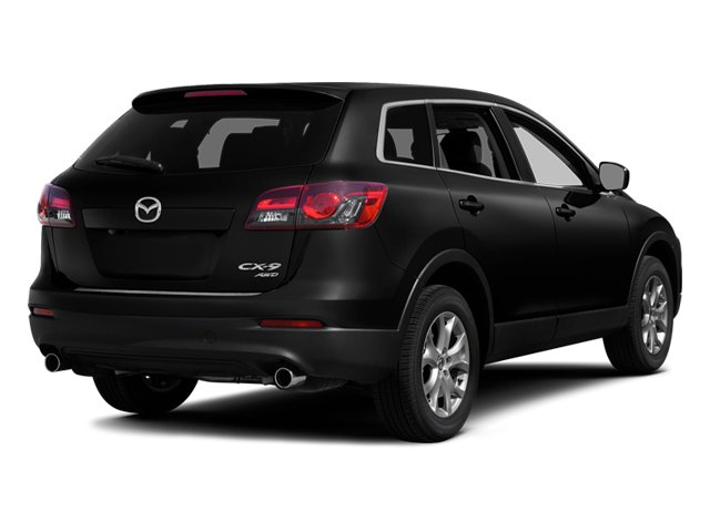 Jet Black Mica 2014 Mazda CX-9 Pictures CX-9 Utility 4D Sport 2WD V6 photos rear view