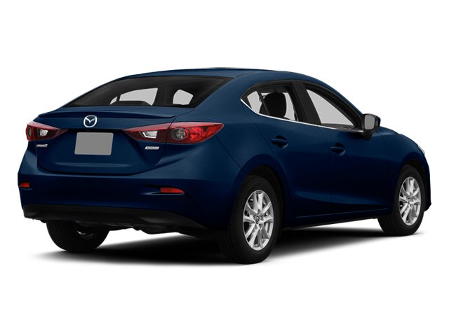 Deep Crystal Blue Mica 2014 Mazda Mazda3 Pictures Mazda3 Sedan 4D s Touring I4 photos rear view