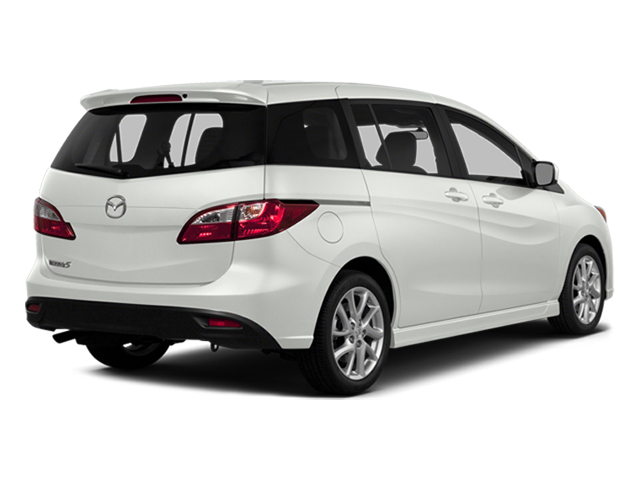 Crystal White Pearl 2014 Mazda Mazda5 Pictures Mazda5 Wagon 5D GT I4 photos rear view