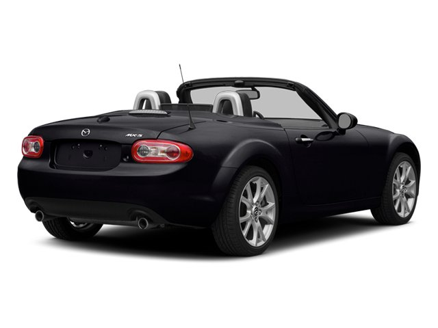 Meteor Gray 2014 Mazda MX-5 Miata Pictures MX-5 Miata Convertible 2D Sport I4 photos rear view