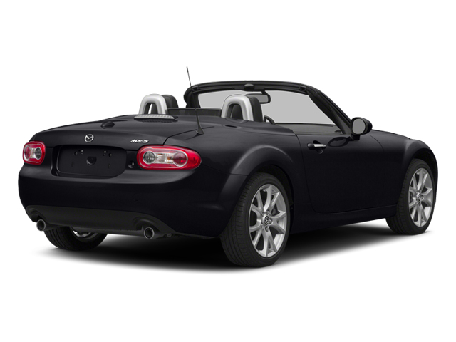 Meteor Gray 2014 Mazda MX-5 Miata Pictures MX-5 Miata Convertible 2D GT I4 photos rear view