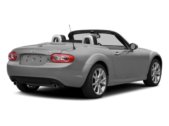 Liquid Silver Metallic 2014 Mazda MX-5 Miata Pictures MX-5 Miata Convertible 2D Club I4 photos rear view