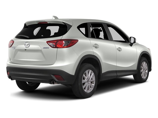 Crystal White Pearl Mica 2014 Mazda CX-5 Pictures CX-5 Utility 4D GT 2WD I4 photos rear view