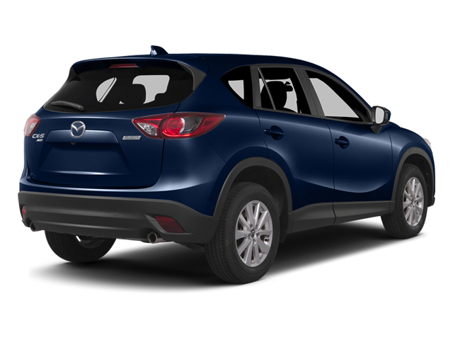 Stormy Blue Mica 2014 Mazda CX-5 Pictures CX-5 Utility 4D GT AWD I4 photos rear view