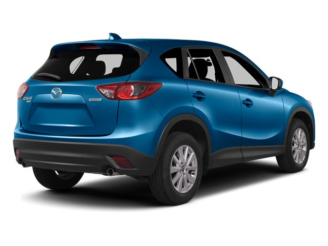 Sky Blue Mica 2014 Mazda CX-5 Pictures CX-5 Utility 4D GT 2WD I4 photos rear view