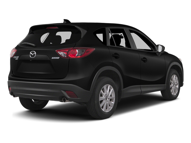 Jet Black Mica 2014 Mazda CX-5 Pictures CX-5 Utility 4D GT 2WD I4 photos rear view