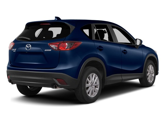 Deep Crystal Blue Mica 2014 Mazda CX-5 Pictures CX-5 Utility 4D GT AWD I4 photos rear view