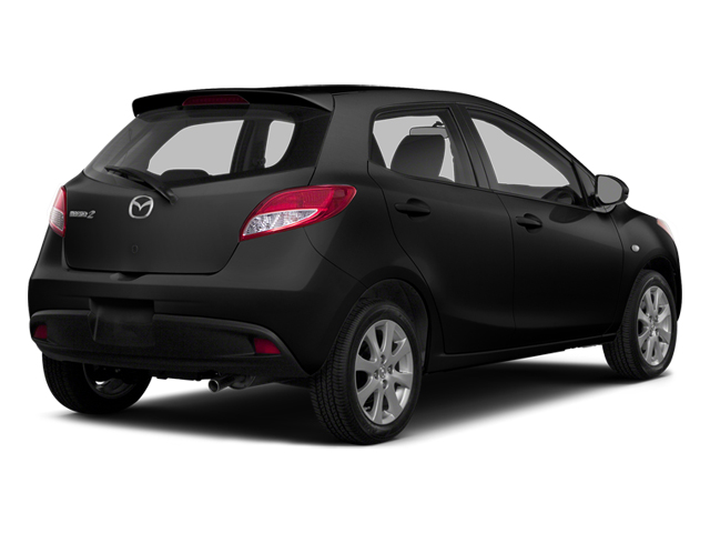 Jet Black 2014 Mazda Mazda2 Pictures Mazda2 Hatchback 5D Sport I4 photos rear view