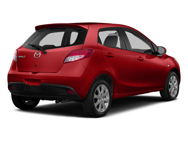 True Red 2014 Mazda Mazda2 Pictures Mazda2 Hatchback 5D Sport I4 photos rear view