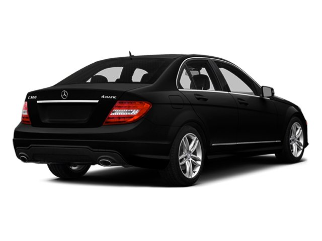 Magnetite Black Metallic 2014 Mercedes-Benz C-Class Pictures C-Class Sedan 4D C300 AWD photos rear view