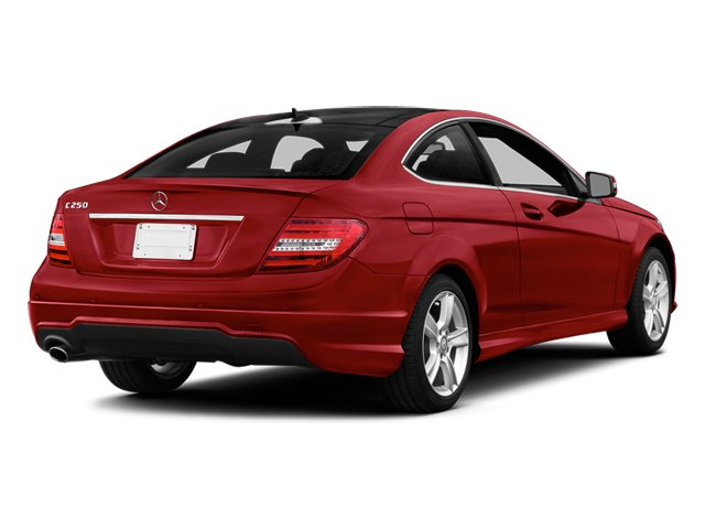 Mars Red 2014 Mercedes-Benz C-Class Pictures C-Class Coupe 2D C250 I4 Turbo photos rear view