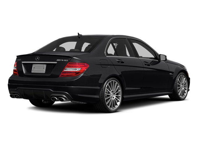 Black 2014 Mercedes-Benz C-Class Pictures C-Class Sport Sedan 4D C63 AMG photos rear view