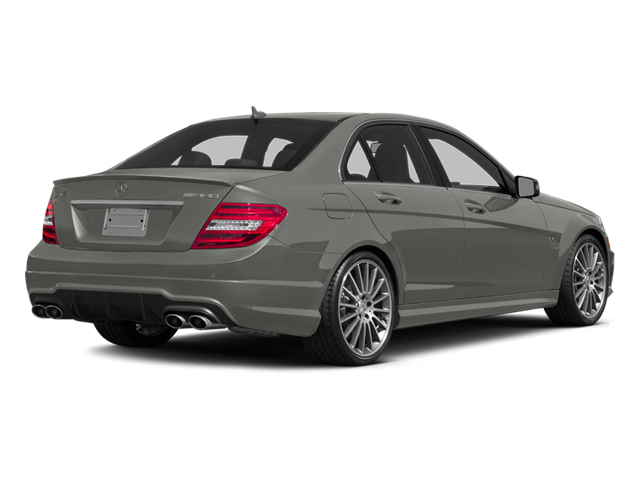 designo Magno Platinum (Matte Finish) 2014 Mercedes-Benz C-Class Pictures C-Class Sport Sedan 4D C63 AMG photos rear view