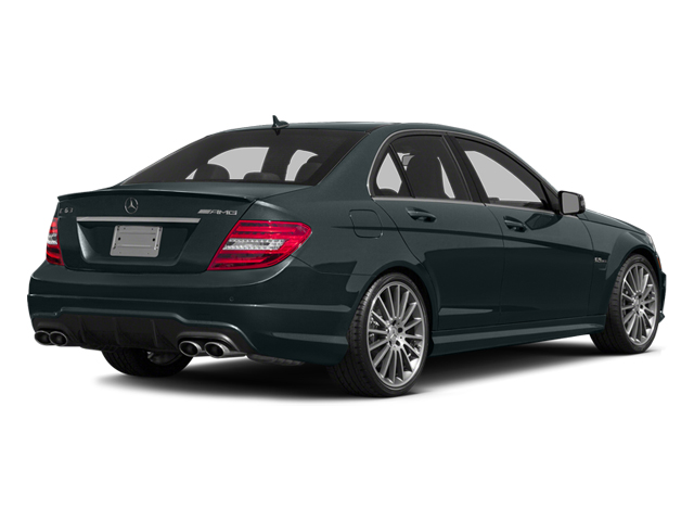 Steel Gray Metallic 2014 Mercedes-Benz C-Class Pictures C-Class Sport Sedan 4D C63 AMG photos rear view