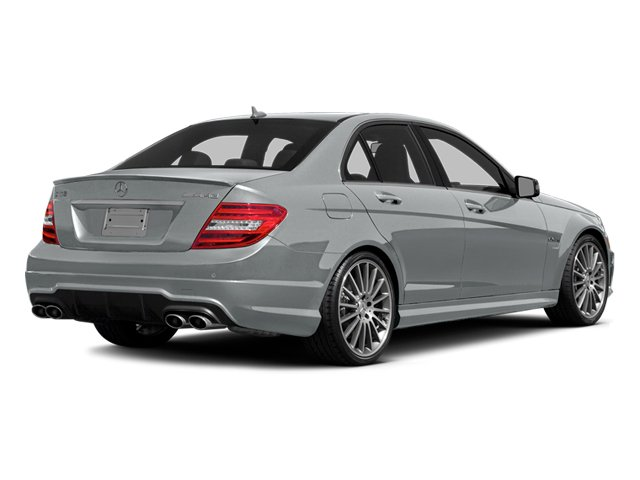 Iridium Silver Metallic 2014 Mercedes-Benz C-Class Pictures C-Class Sport Sedan 4D C63 AMG photos rear view