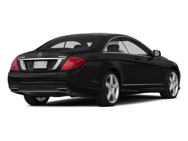 Magnetite Black Metallic 2014 Mercedes-Benz CL-Class Pictures CL-Class Coupe 2D CL550 AWD V8 Turbo photos rear view