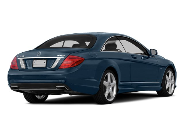 Monarch Blue Metallic 2014 Mercedes-Benz CL-Class Pictures CL-Class Coupe 2D CL550 AWD V8 Turbo photos rear view