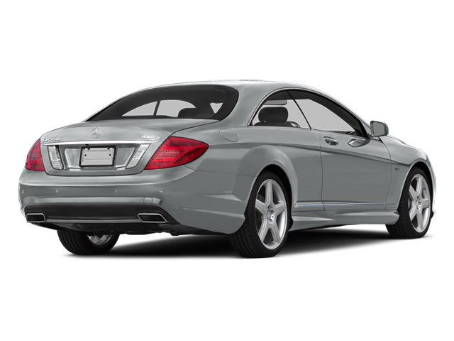 Iridium Silver Metallic 2014 Mercedes-Benz CL-Class Pictures CL-Class Coupe 2D CL550 AWD V8 Turbo photos rear view