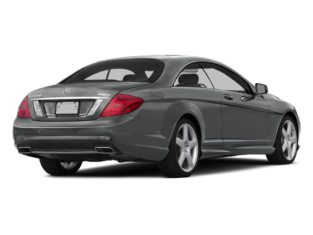Palladium Silver Metallic 2014 Mercedes-Benz CL-Class Pictures CL-Class Coupe 2D CL550 AWD V8 Turbo photos rear view