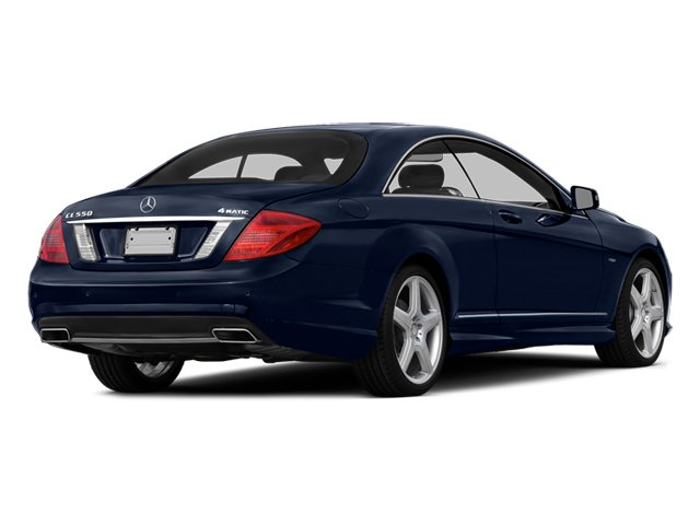 Lunar Blue Metallic 2014 Mercedes-Benz CL-Class Pictures CL-Class Coupe 2D CL550 AWD V8 Turbo photos rear view